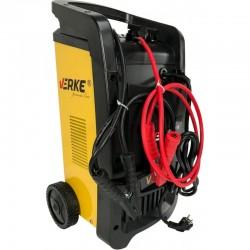 Cargador Arrancador Bateria VERKE 12/24V - VP450 Detalle pinzas