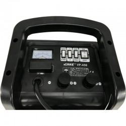 Cargador Arrancador Bateria VERKE 12/24V - VP450 Detalle panel superior