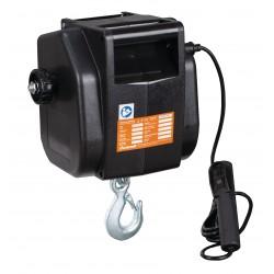 Cabestrante Eléctrico 12V UNICRAFT ESW901 - 900 kg - Vista lateral