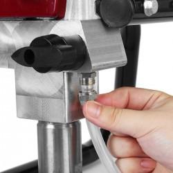Maquina Airless para pintar 1800W - Plastico, Barniz.... - Detalle conexión