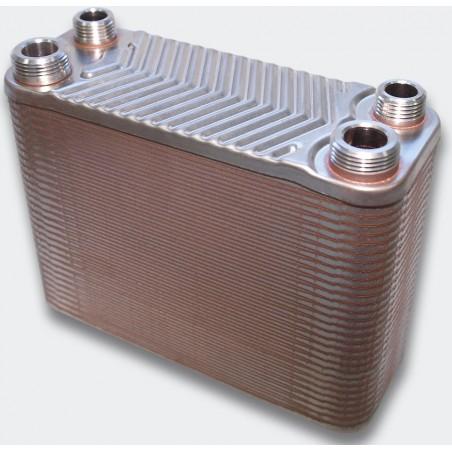 Intercambiador de Placas MQT - 130 kW