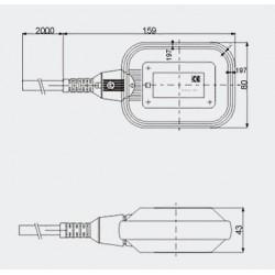 Boya de Nivel MQT 250V - 5 metros