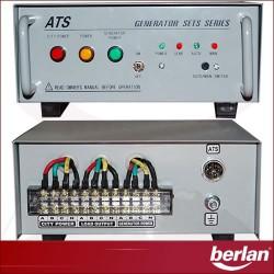 GENERADOR ELECTRICO 5000W - DIESEL - ARRANQUE ELECTRICO + ATS