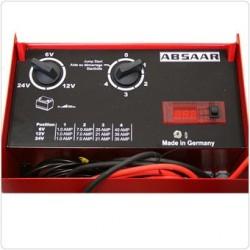 Cargador - Arrancador Profesional - Carga Rapida 6 /12 /24V  ABSAAR SL-30