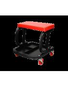 Comprar taburetes y camillas para taller automoción