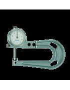 Herramientas de medición: medidores de espesor