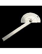 Herramientas de medición: transportador de ángulos