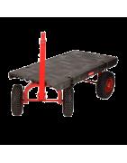 Remolques y plataformas de transporte.Tienda maquinaria
