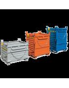 Contenedores y cestas metálicas. Tienda herramientas