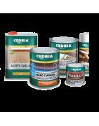 Comprar productos para madera CEDRIA