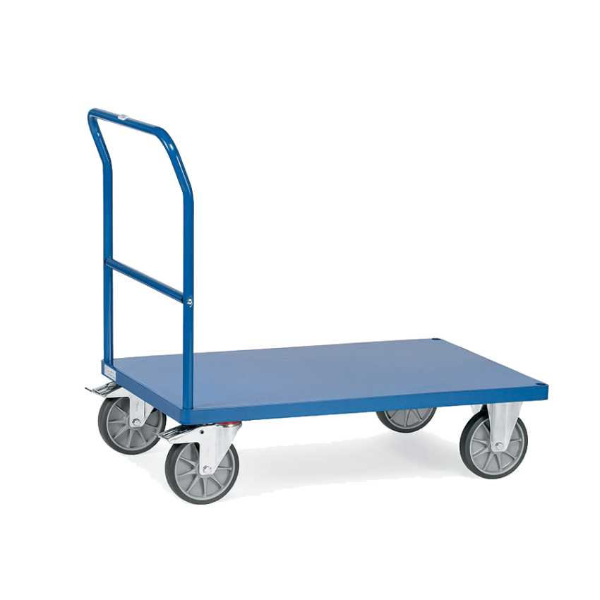 Plataformas hasta 800Kg (una barandilla de empuje)