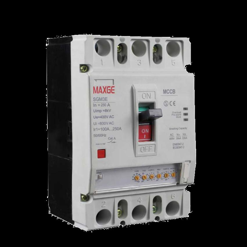 Interruptores en caja moldeada SGM3E