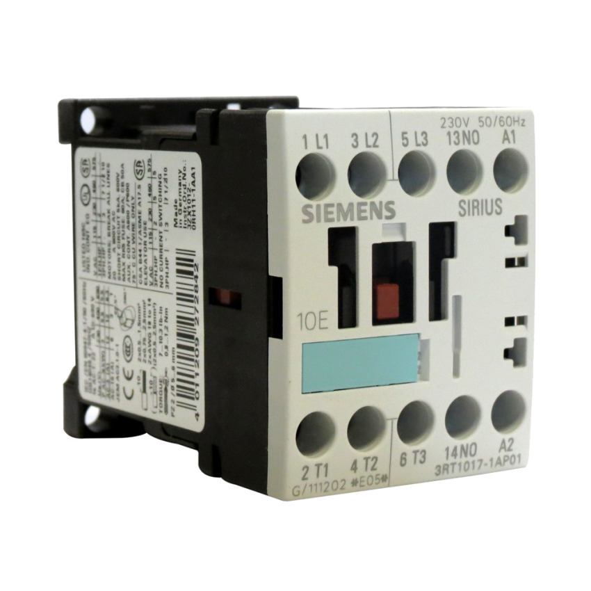 Contactores mando en corriente continua hasta 95A