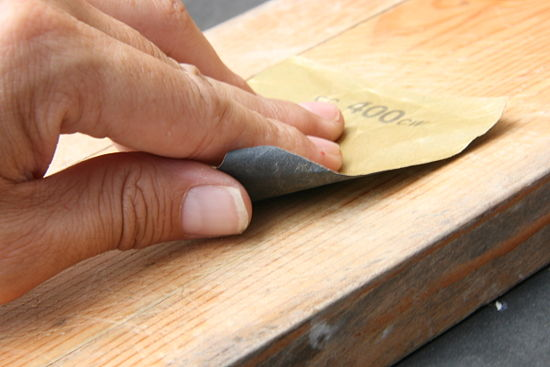 lija para madera
