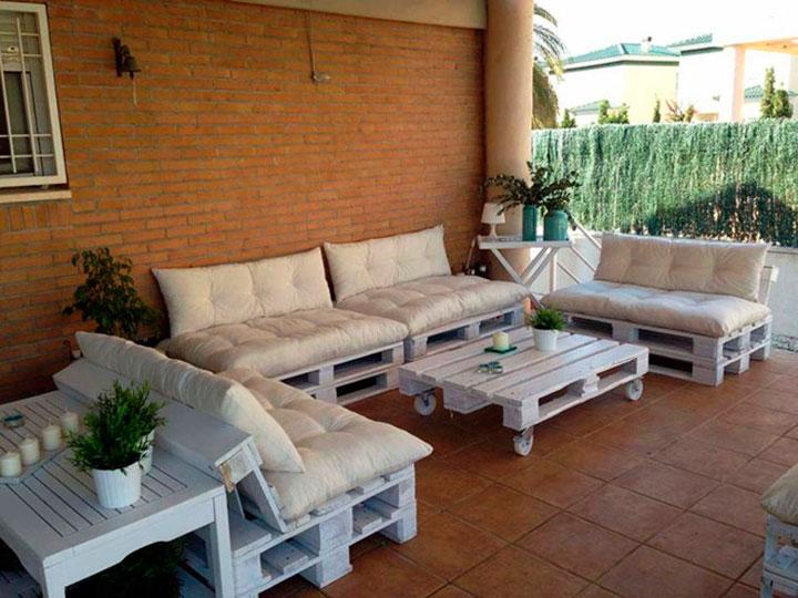 Bricolaje En Casa El Huerto Se Transformo En Chill Out Muebles Con